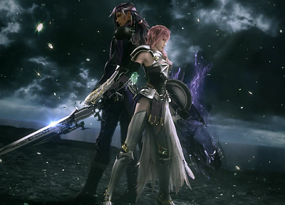video games, Final Fantasy XIII, Claire Farron - desktop wallpaper