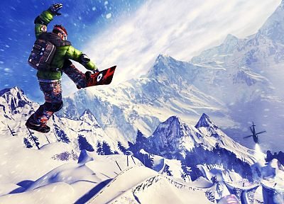 snow, sports, snowboarding, snowboard - related desktop wallpaper