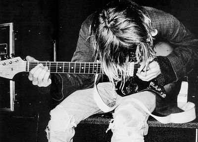 music, Nirvana, Kurt Cobain - related desktop wallpaper