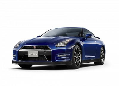 studio, models, Nissan GT-R R35 - random desktop wallpaper