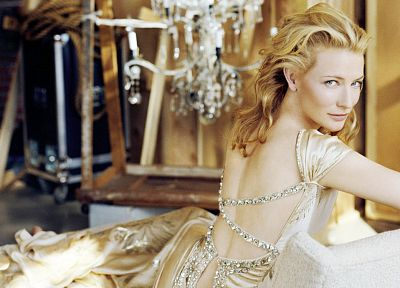 women, actress, Cate Blanchett - random desktop wallpaper