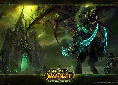 World of Warcraft, World of Warcraft: The Burning Crusade - random desktop wallpaper