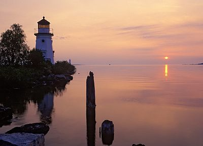 light, sunrise, Michigan, range - random desktop wallpaper