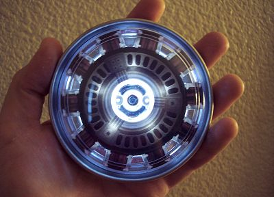Iron Man, Arc reactor - random desktop wallpaper