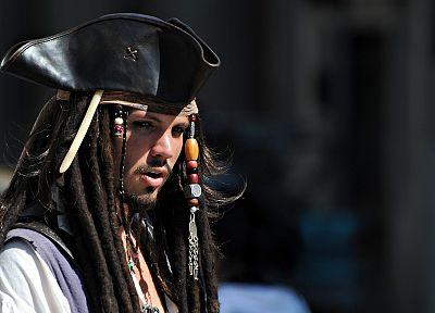 Pirates of the Caribbean, Captain Jack Sparrow - related desktop wallpaper