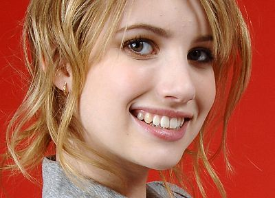 women, Emma Roberts, faces - related desktop wallpaper