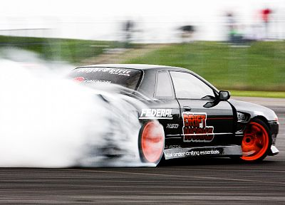 cars, vehicles, drifting, Nissan Skyline R32, JDM Japanese domestic market - random desktop wallpaper