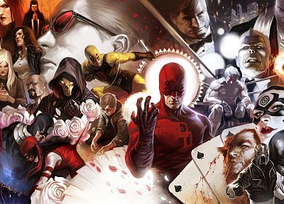 Daredevil, Marvel Comics - random desktop wallpaper