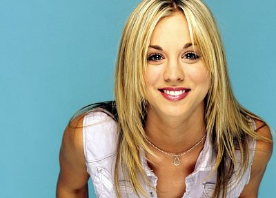 women, actress, Kaley Cuoco - random desktop wallpaper