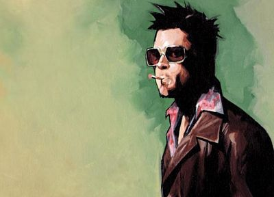 Fight Club, Tyler Durden - random desktop wallpaper