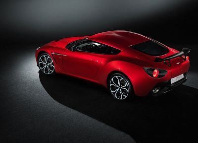 red, cars, Aston Martin, vehicles, sports cars, Aston Martin V12 Zagato - related desktop wallpaper