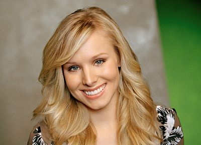 women, Kristen Bell, actress, celebrity - desktop wallpaper