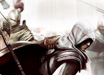 video games, Ezio, Assassins Creed 2 - related desktop wallpaper
