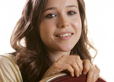 women, Ellen Page, actress - random desktop wallpaper
