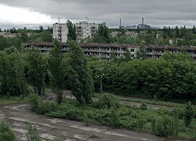 landscapes, ruins, Pripyat - related desktop wallpaper