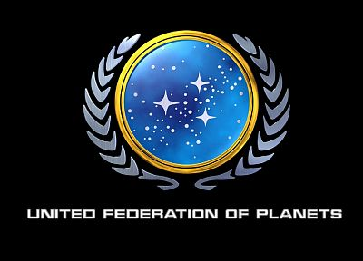 Star Trek, logos, United Federation of Planets, Star Trek logos - random desktop wallpaper