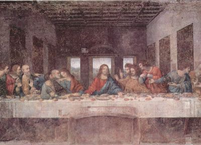 The Last Supper, Leonardo da Vinci - related desktop wallpaper