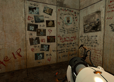 video games, Valve Corporation, Portal, screenshots - random desktop wallpaper