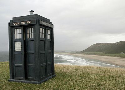 landscapes, TARDIS, Doctor Who - desktop wallpaper