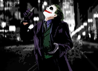 The Joker, The Dark Knight - random desktop wallpaper