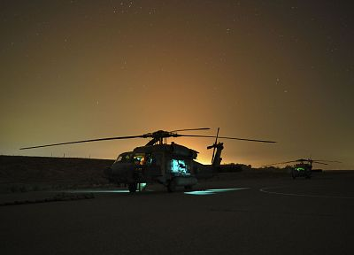 black, night, military, helicopters, Sikorsky, hawk, Afghanistan, vehicles, UH-60 Black Hawk, sea hawk - desktop wallpaper