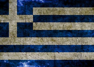 flags, Greece - random desktop wallpaper