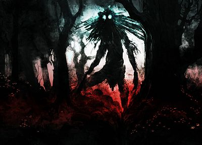 creepy, scarecrow, Skull Kid - desktop wallpaper