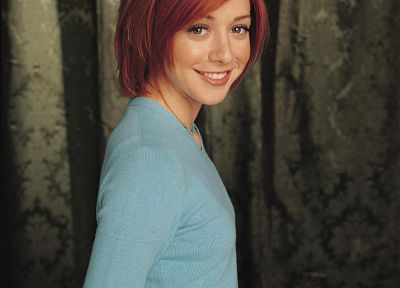 Alyson Hannigan, Buffy the Vampire Slayer, Willow Rosenberg - desktop wallpaper