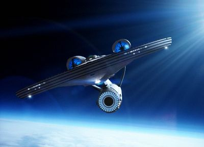outer space, Star Trek, science fiction, Enterprise - related desktop wallpaper