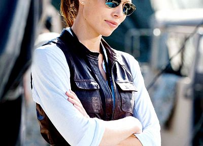 women, Jessica Biel, sunglasses, The A-Team - random desktop wallpaper