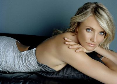 women, dress, Cameron Diaz - random desktop wallpaper