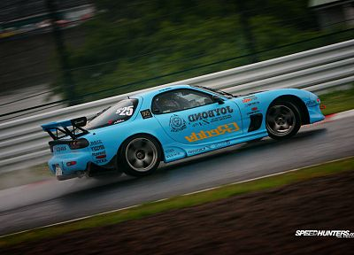 cars, Mazda, drifting cars, vehicles, racing, RX-7 - related desktop wallpaper