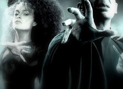 movies, Harry Potter, Voldemort, Bellatrix Lestrange, Death Eaters - related desktop wallpaper