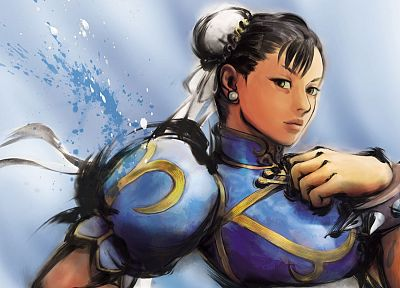 Street Fighter, Chun-Li - random desktop wallpaper