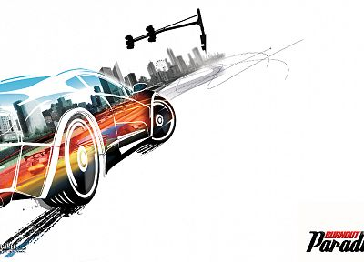 video games, cars, Burnout Paradise - random desktop wallpaper