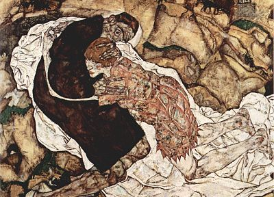 Egon Schiele - random desktop wallpaper