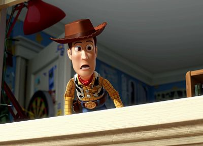 tables, lamps, Toy Story, Woody, hats - desktop wallpaper