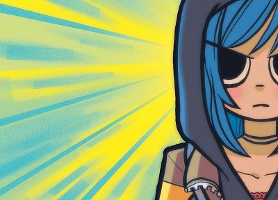 Scott Pilgrim, Ramona Flowers - random desktop wallpaper