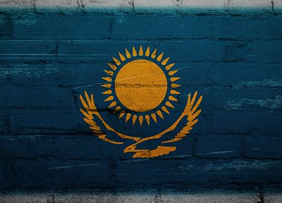 Sun, birds, eagles, flags, Kazakhstan - related desktop wallpaper