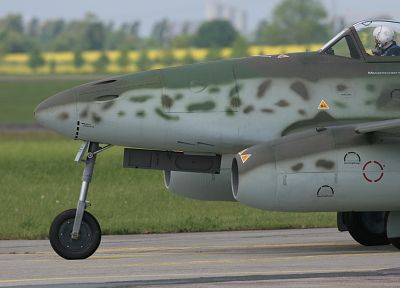 aircraft, Messerschmitt, World War II, Luftwaffe, planes, Me 262 Schwalbe, jet aircraft, Heinkel He-178 - related desktop wallpaper