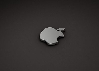 Apple Inc., Mac, logos, 3D - random desktop wallpaper
