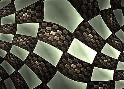 3D view, abstract - related desktop wallpaper