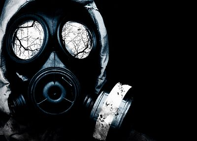 video games, S.T.A.L.K.E.R., gas masks - random desktop wallpaper