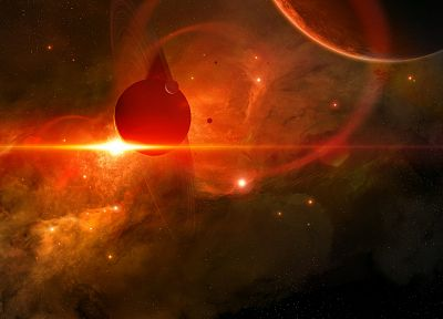 outer space, galaxies, DeviantART, obscure, JoeJesus, Josef Barton - random desktop wallpaper