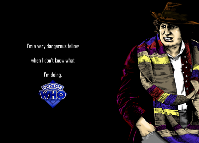 quotes, Fourth Doctor, Tom Baker, Doctor Who - related desktop wallpaper