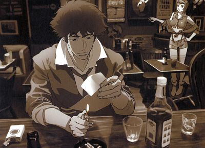 Cowboy Bebop - random desktop wallpaper
