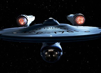 Star Trek, spaceships, Enterprise, USS Enterprise - random desktop wallpaper