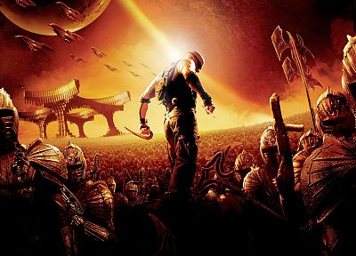 movies, The Chronicles of Riddick, Vin Diesel - related desktop wallpaper