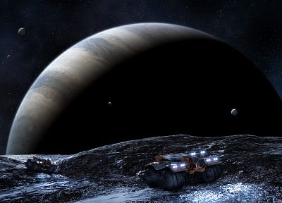 outer space, planets, Moon - related desktop wallpaper