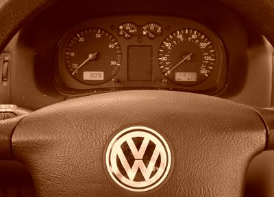 sepia, dashboards, Volkswagen, car interiors - random desktop wallpaper